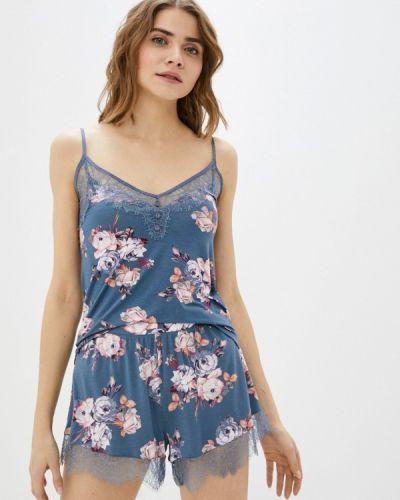 Пижамная синяя пижама Marks & Spencer