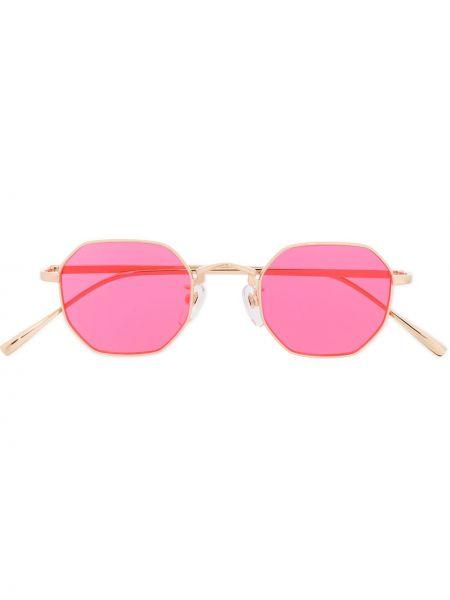 Złote różowe okulary Undercover