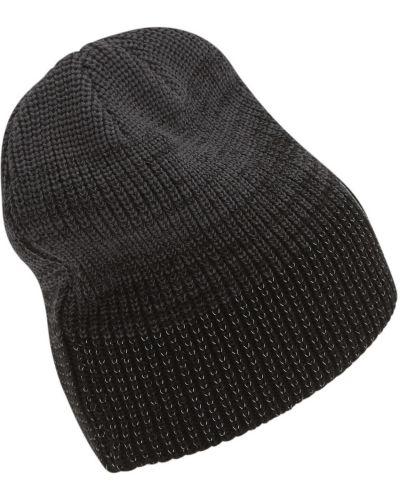 Шерстяная шапка бини - черная Puma