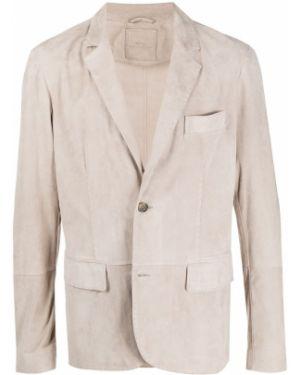 С рукавами пиджак на пуговицах свободного кроя с карманами Desa 1972
