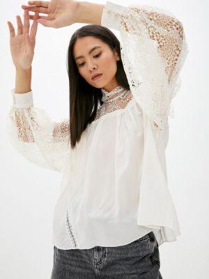 Бежевая блузка с длинными рукавами Iro