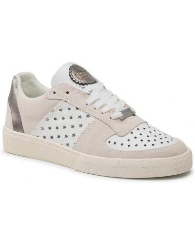 Białe sneakersy Scotch & Soda