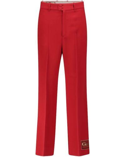 Prosto spodnie z wiskozy zabytkowe Gucci