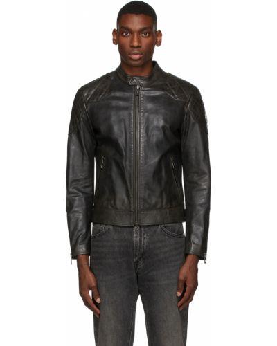 Черная стеганая куртка Belstaff