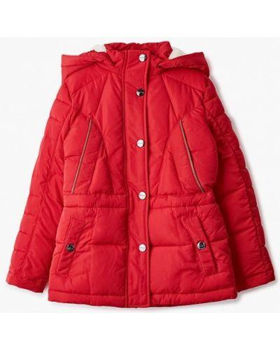 Свободная теплая красная куртка Finn Flare