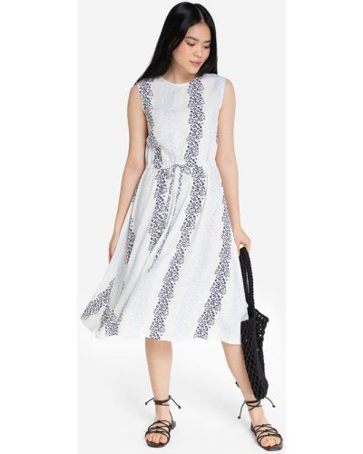 Приталенное джинсовое платье миди с короткими рукавами Gloria Jeans
