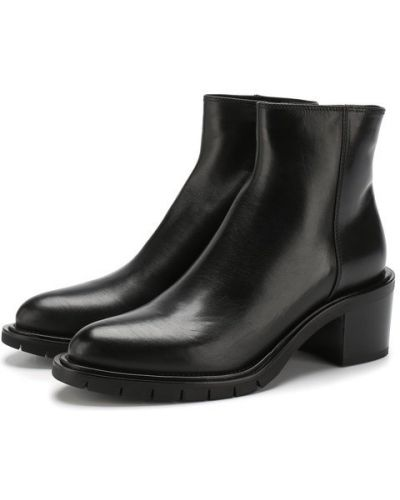 Кожаные ботинки на каблуке Premiata