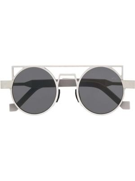 Okulary srebrne khaki Vava