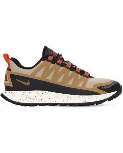 Кроссовки на шнуровке - зеленые Nike Acg