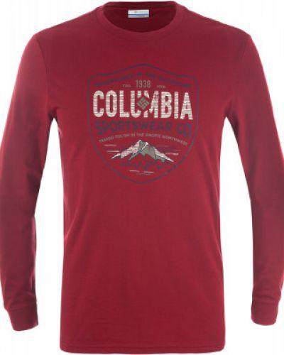 Футболка с длинным рукавом спортивная хлопковая Columbia