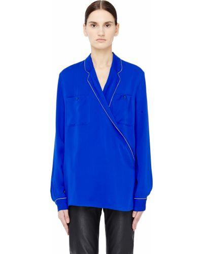 Блузка шелковая Maison Margiela