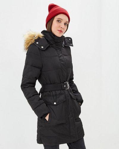 Утепленная куртка - черная Warehouse