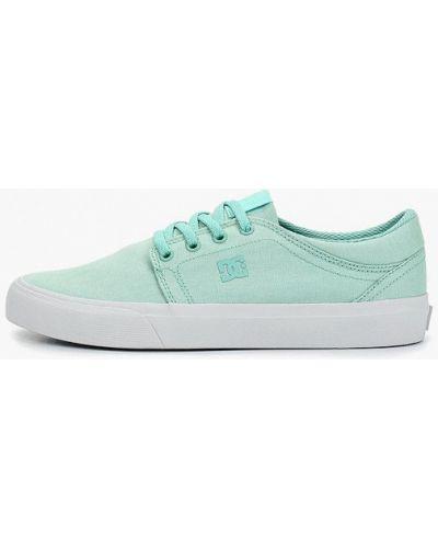 Кеды бирюзовый Dc Shoes