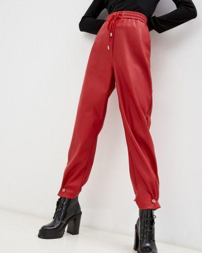 Кожаные брюки - красные Iceberg