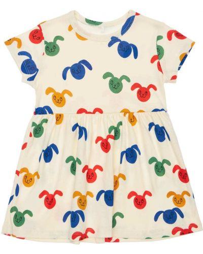 Хлопковое платье Mini Rodini