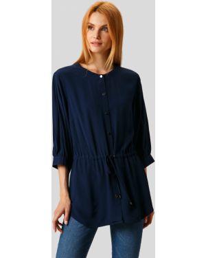 Блузка темно-синий из вискозы Finn Flare
