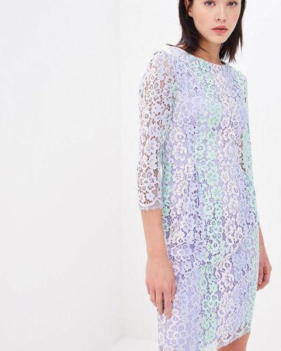 Повседневное платье весеннее фиолетовый Blugirl Folies