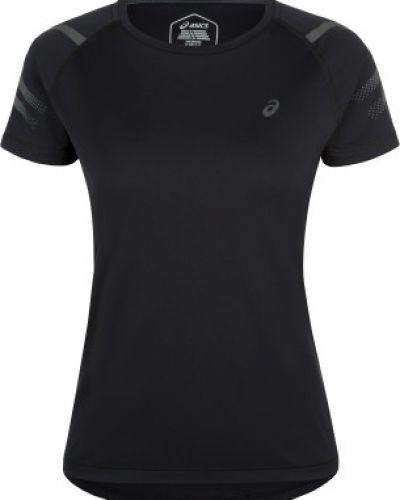 Спортивная футболка черная плоский Asics