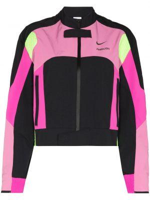 Длинная куртка - розовая Nike