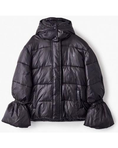Теплая черная куртка Patrizia Pepe