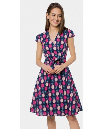 Платье с запахом весеннее Mr520