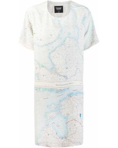 Платье мини с вырезом Raeburn