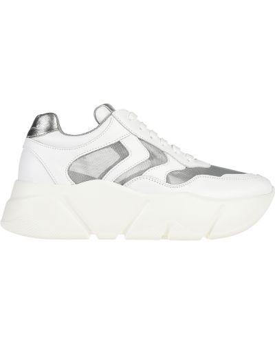 Кроссовки на платформе белый Voile Blanche