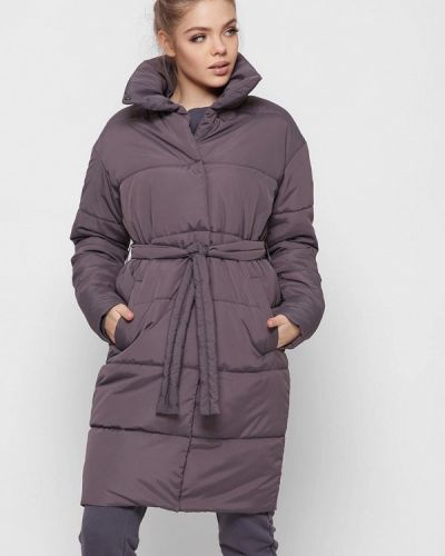 Фиолетовая утепленная куртка Carica&x-woyz