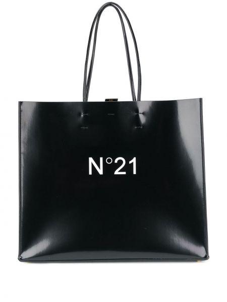 Skórzana torebka na zakupy duży N°21