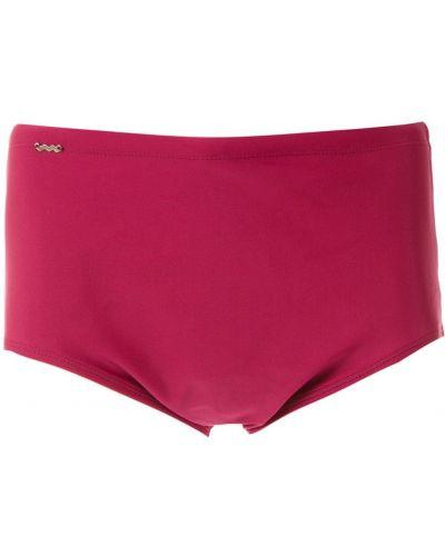 Розовые плавки с подкладкой с декоративной отделкой Amir Slama
