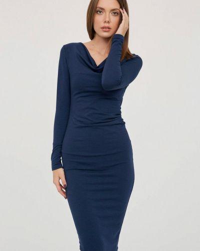 Платье - синее Evalution