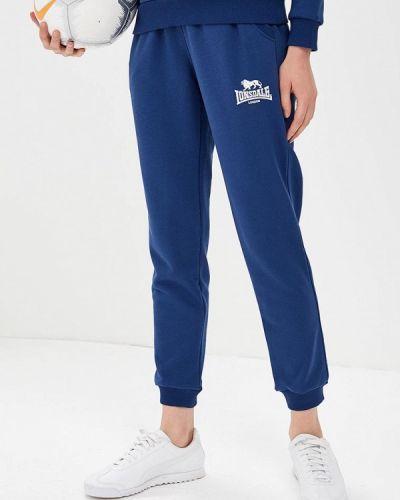 Синие спортивные брюки Lonsdale