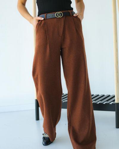 Широкие брюки с завышенной талией Clew