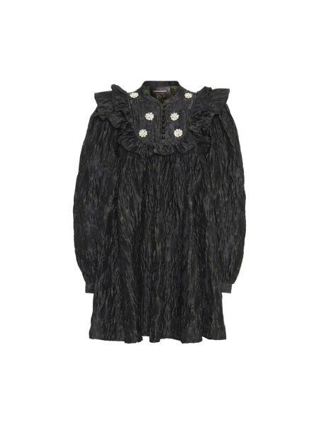 Czarna sukienka Custommade