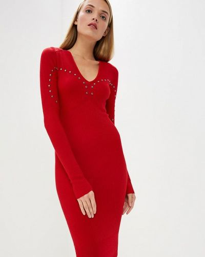 Платье с длинными рукавами осеннее Pinko