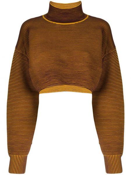 Czerwony sweter bawełniany Nagnata