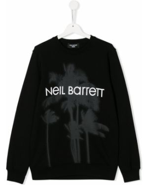 Черный свитшот Neil Barrett