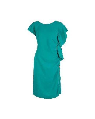 Коктейльное платье - зеленое Class Cavalli