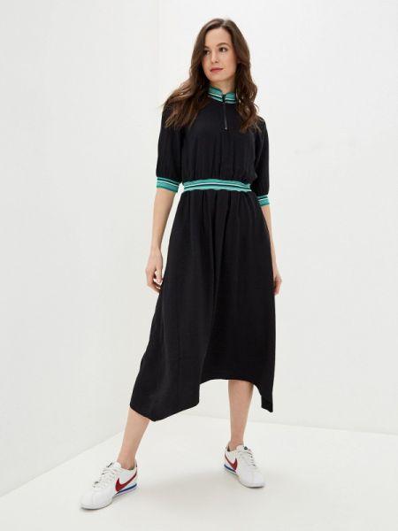 Платье прямое черное Baon