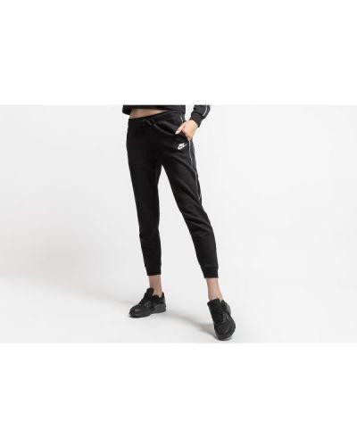 Czarne joggery dresowe bawełniane Nike