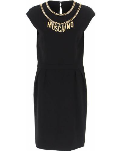 Sukienka wieczorowa, czarny Moschino