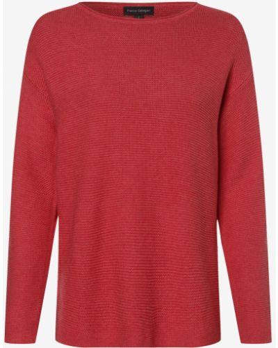 Czerwony sweter dzianinowy Franco Callegari