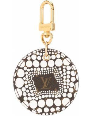 Brelok skórzany brązowy Louis Vuitton