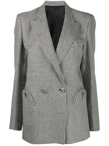Белая куртка с манжетами на пуговицах с карманами Blazé Milano