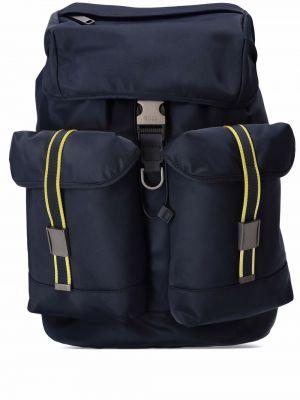 Plecak z klamrą - niebieski Boss