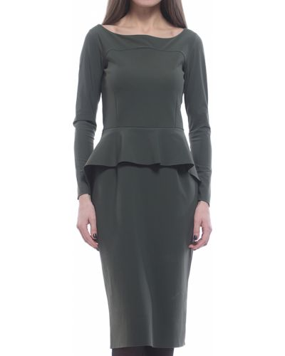 Платье осеннее зеленый Chiara Boni La Petite Robe