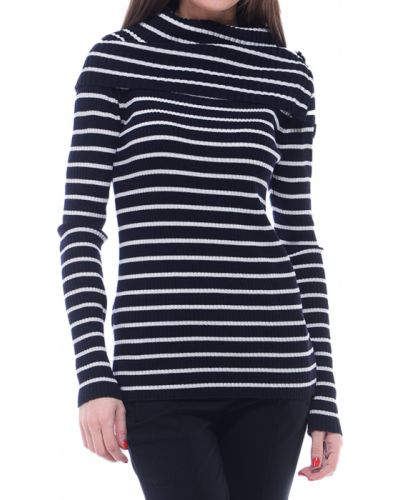 Шерстяная черная кофта Marina Yachting