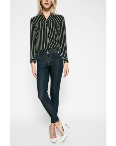 Джинсы-скинни с низкой посадкой на пуговицах Guess Jeans