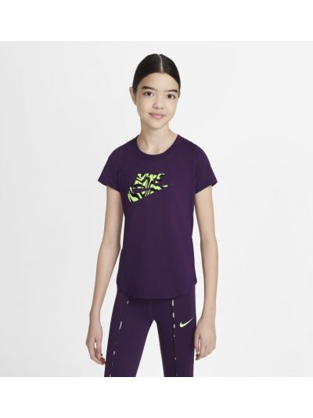 Fioletowy t-shirt Nike