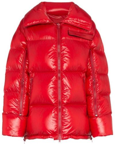 Красный пуховик оверсайз Calvin Klein 205w39nyc
